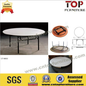 Used Popular Plywood Folding Table for Hotel Banquet (CT-8003) pictures & photos