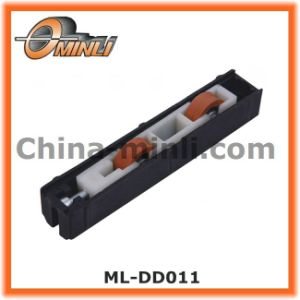 Plastic Pulley for Slide Window Parts with Double Wheels (ML-DD011) pictures & photos