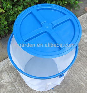 Nylon PVC Pop up Spiral Pet Food Bin with FDA Reach Certificate pictures & photos