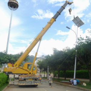 6m Lighting Pole with 36W LED Solar Street Light pictures & photos
