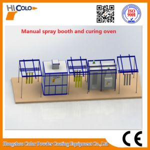 Manual Spray Booth and Curing Oven pictures & photos