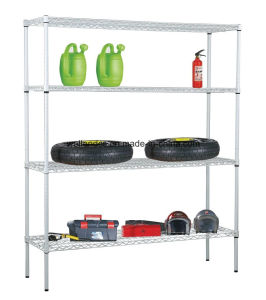 NSF Adjustable Steel Shelving Banner Warehouse Storage Rack pictures & photos