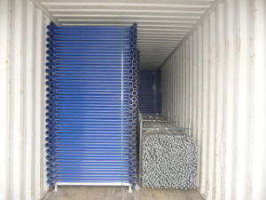 5′x4′ Shoring Frame Scaffolding Blue Powder Coated From Chinese Factory pictures & photos