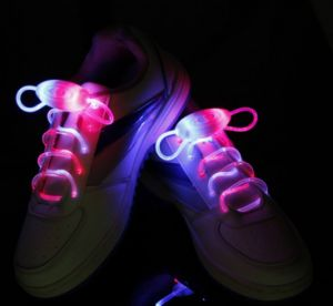 Sparkle! LED Shoelaces Multicolor Shoestring Flash Glow Stick! pictures & photos