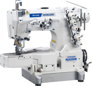 Wd-600-01CB-Da Direct Drive High Speed Small Cylinder Bed Interlock Sewing Machine pictures & photos
