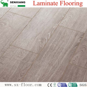 8mm V-Groove Hardwood Feel Professional Manufacturer Laminate Flooring