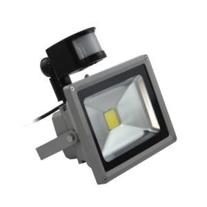 20W LED Flood Light with Motion Sensor