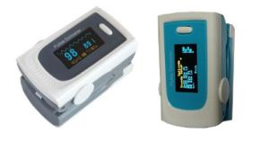 New OLED Fingertip Pulse Oximeter with Colordul Mould pictures & photos