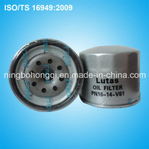 Car Auto Oil Filter Pn16-14-V61 for Mazda Parts pictures & photos