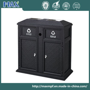 100-Litre Square Ashtray Top Waste Receptacle pictures & photos
