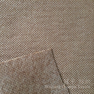 Home Decoration Linen Fabric 100% Polyester Coated for Sofa pictures & photos