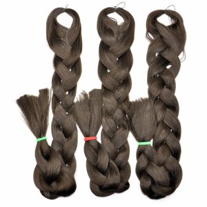 2017 Hair Braid Fire Retardant Fiber 100% Kanekalon Jumbo Yaki Braid Synthetic Hair Extension Lbh 030 pictures & photos