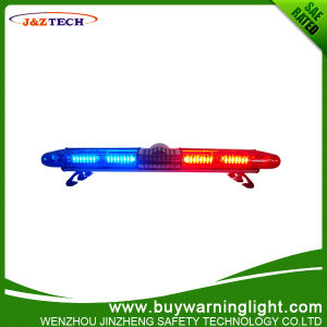 Strobe Lightbar with Speaker and Siren for Police Rescue Vehicle