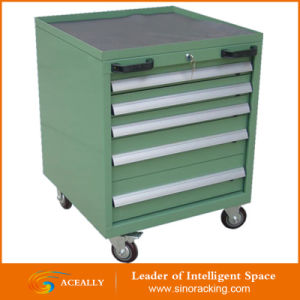 China Custom Metal Tool Cabinet on Wheels with Drawers - China ...