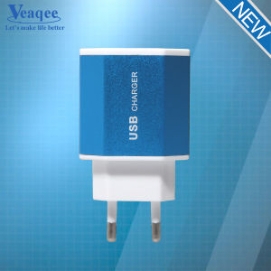 5V 2.1A Dual USB Travel Mobile Phone Charger