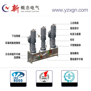Environmental Friendly Automatic High Voltage Outdoor Circuit Breaker pictures & photos