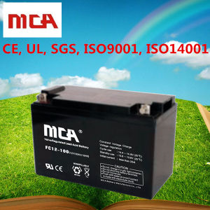 100ah AGM Batteries 100ah Deep Cycle Battery with 5-Year Warranty pictures & photos
