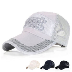 Fast Dry Promotional Mesh Sport Baseball Golf Cap (YKY3099) pictures & photos