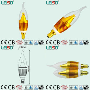 5W 400lm C35 LED Lamp with CREE Chip, Rubycon Capacitor pictures & photos