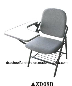Comfortable Folding Chair for Office with Writing Tablet pictures & photos