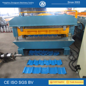Metal Roof Corrugated Sheet Double Layer Machine pictures & photos