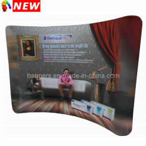 17FT Curved Tension Fabric Trade Show Displays pictures & photos