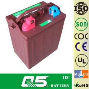 8V125AH (WPST-860) , Deep Cycle Golf Cart Battery pictures & photos