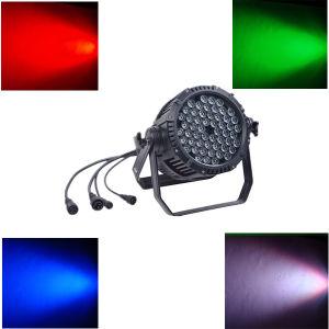 LED Stage Light 54X3w RGBW LED PAR 64 pictures & photos