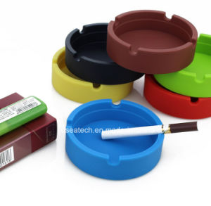 Silicone Plastic Ashtray with Custom Logo pictures & photos