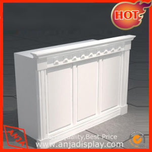 MDF Front Desk Counter Desk Table pictures & photos