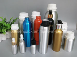 Aluminum Fragrance Olive Oil Bottle with Lotion Pump (PPC-AEOB-031) pictures & photos