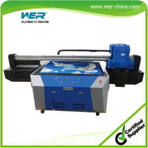 New Condition and Card Printer, Cloths Printer, Tube Printer Usage UV Flatbed Printing Machine Price pictures & photos