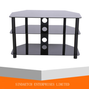 Glass TV Table / TV Stand / TV Rack with Lower Price, Only USD18.00 pictures & photos
