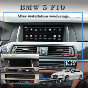 """10.25""""Anti-Glare Carplay Auto Stereo Android 7.1 for BMW 5 F10 3G Internet pictures & photos"""