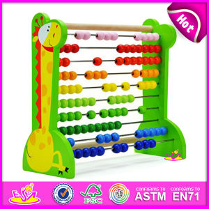 2015 Colorful Wooden Math Toy for Kids, Educational Toy Wooden Abacus Frame for Children, Wooden Toy Abacus Frame for Baby W12A002 pictures & photos
