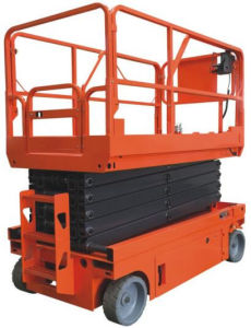 Full Electric Self-Propelled Scissor Lift Aerial Work Platform (ASE0810) pictures & photos