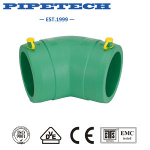 PE Gas Pipe Electrofusion Fitting Elbow 800mm pictures & photos