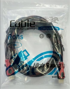 High-Definition Double Ring Network 1.4V HDMI to DVI Cable pictures & photos