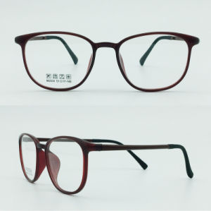 Factory Stock Super Light Half Plastic Steel Fashion New Design Optical Frames Glasses Eyewear pictures & photos