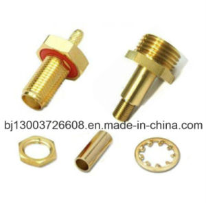 Customized CNC Machining Adapter Connector on Metal Material
