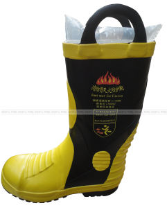 Flame Retardant Protection Firemen′s Boots pictures & photos