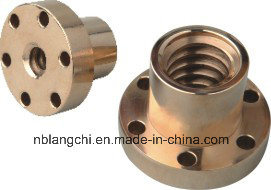 Trapezoidal Thread Bronze Multi Start Flanged Screw Nut Tr30X6 pictures & photos