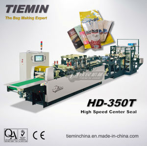Center Seal Bag Making Machine HD-350t pictures & photos