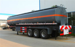 Hot Sale 35m3 Oil Tanker Semi Trailer