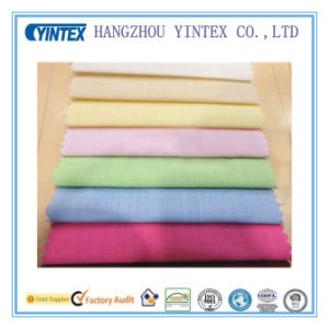 Solid Deyed Linen Cotton Spandex Fabric for Home Textiles pictures & photos