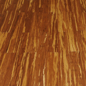 Tigerstripe Strand Woven HDF Bamboo Flooring pictures & photos