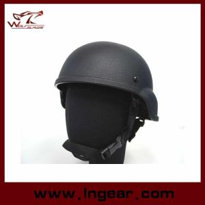 Ballistic Helmet Mich 2000 Replica Light Weight ABS Plastic Helmet with Police Helmet pictures & photos