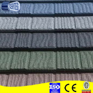 Factory Cheap Stone Coated Aluminum Zinc Roof Tiles for Africa pictures & photos