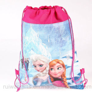 Promotional Non-Woven Drawstring Bag for Children pictures & photos