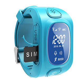 New Design 2015 Wrist Smart Watch GPS Tracking Device for Kids Wt50-Ez pictures & photos